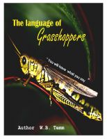 Cover for 'The Language of Grasshoppers'