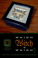 Cover for 'Which Witch is Which? Cross Stitch and Game'