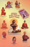 Cover for 'Ahimsa (Non-Violence): In View of Indian Sages'