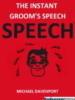 Cover for 'The Instant Groom's Speech'