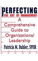 Cover for 'Perfecting the Art of Management'