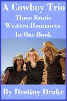 Cover for 'A Cowboy Trio: Three Erotic Western Romances in One Book'