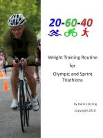 Cover for 'Weight Training Routine For Olympic and Sprint Triathlons'