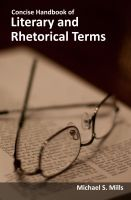 Cover for 'Concise Handbook of Literary and Rhetorical Terms'