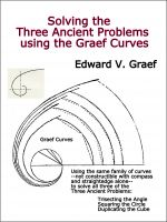 Cover for 'Solving the Three Ancient Problems using the Graef Curves'