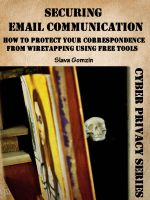 Cover for 'Securing Email Communication: How to Protect Your Correspondence from Wiretapping Using Free Tools'