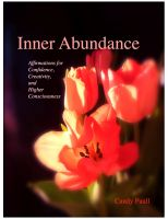 Cover for 'Inner Abundance: Affirmations for Confidence, Creativity, and Higher Consciousness'