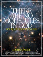 Cover for 'There Are No Molecules in God'