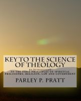 Cover for 'Key to the Science of Theology'