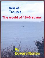 Cover for 'Sea of Trouble--The World of 1940 at War'