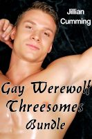 Cover for 'Gay Werewolf Threesome Bundle (m/m/m Monster Sex)'