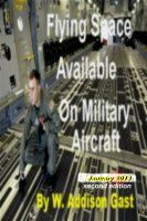 Cover for 'Flying Space Available on Military Aircraft'