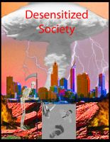 Cover for 'Desensitized Society'