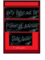 Cover for 'Harry potter and the Prisoner of Azkaban Study Guide'