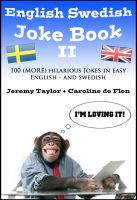 Cover for 'English Swedish Joke Book II'