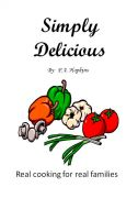 Cover for 'Simply Delicious'