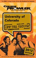 Cover for 'University of Colorado 2012'
