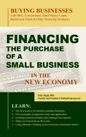 Cover for 'Financing the Purchase of a Small Business in the New Economy'