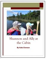 Cover for 'Shannon and Ally at the Cabin'