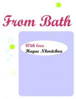 Cover for 'From Bath, with love'
