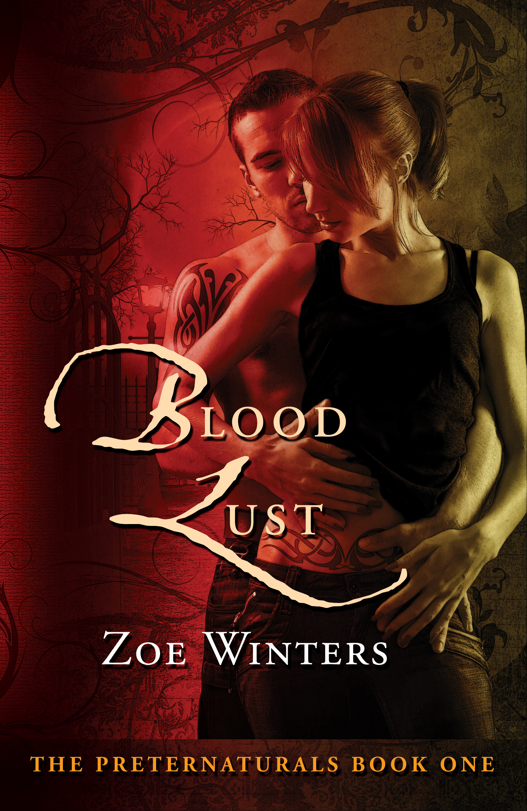 Zoe Winters - Blood Lust (Paranormal Romance/Urban Fantasy: Preternaturals Book 1)