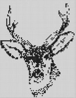 Cover for 'Deer Head Cross Stitch Pattern'
