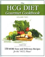 Cover for 'The HCG Diet Gourmet Cookbook Volume 2'