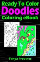 Cover for 'Ready To Color Doodles Coloring eBook'
