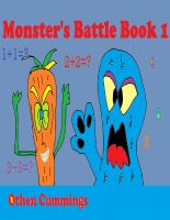 Cover for 'Monster's Battle Book 1'