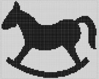 Cover for 'Rocking Horse Cross Stitch Pattern'