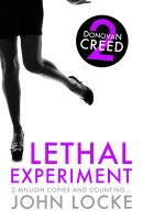 Cover for 'Lethal Experiment'