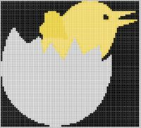 Cover for 'Hatching Chick 2 Cross Stitch Pattern'