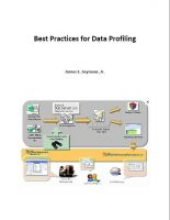 Cover for 'Best Practices for Data Profiling'