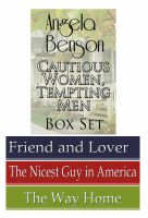 Cover for 'Cautious Women, Tempting Men Romance Boxed Set: 3-in-1'