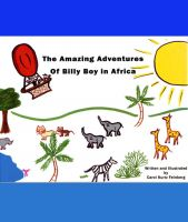 Cover for 'The Amazing Adventures of Billy Boy in Africa'
