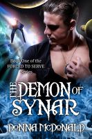 Cover for 'The Demon Of Synar (Fantasy and Science Fiction Romance)'