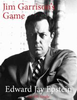 Cover for 'Jim Garrison's Game: An EJE Single'