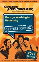 Cover for 'George Washington University 2012'