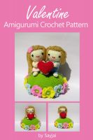 Cover for 'Valentine Amigurumi Crochet Pattern'
