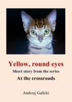 Cover for 'Yellow, round eyes - Mystery short story'
