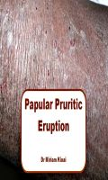 Cover for 'Papular Pruritic Eruption (PPE)'