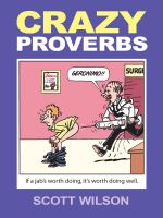 Cover for 'Crazy Proverbs'