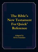 Cover for 'The New Testament for Quick Reference'