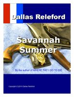 Cover for 'Savannah Summer'
