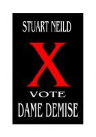 Cover for 'Vote Dame Demise'