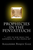 Cover for 'Prophecies in the Pentateuch.'