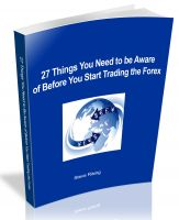 Cover for '27 Things You Need to Be Aware of Before You Start Trading the Forex'