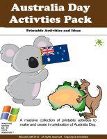 Australia Day Activity Ideas Sheet - MindingKids  |Australia Day Lesson Plans