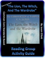 Cover for 'The Lion, The Witch, And The Wardrobe Reading Group Activity Guide'