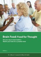 Cover for 'Brain Food: Food for Thought. Eat Your Way to Brain Health.'